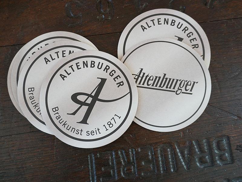 Altenburger Bierdeckel 100 Stk.